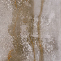 decò, cm.100x30 cemento e pigmenti con resina,su pannello legno. Abitazione privata Empoli