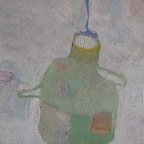 """Gefäß 3"", 2016, Acryl auf Leinwand, 30 x 30 cm"