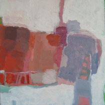 """Gefüge 1"", 2016, Acryl auf Leinwand, 30 x 30 cm"
