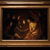 Le Christ aux outrages - Gerrit van Hontorst