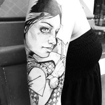 Léa Nahon tatouage