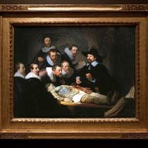 La Leçon d'anatomie du docteur Tulp - Rembrandt