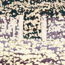 """Das Tor II"", 2000, Öl auf Leinwand, 115 x 130 cm"
