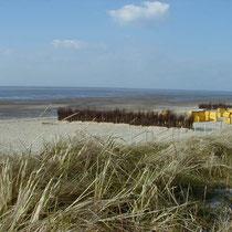 Der Cuxhavener Strand