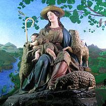 Die Göttliche Hirtin (Maria), Kapuzinerkonvent El Pardo (Madrid)
