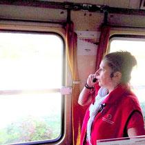 Die Zugbegleiterin erzählt... leider nur auf Französisch