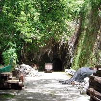 Eingang der Grube Dolca