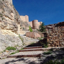 Blick auf Burg