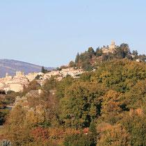Blick auf Foucalquier (Wikimedia Commons / Ka Tesnik)