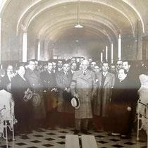 Präsident Companys besucht das Hospital
