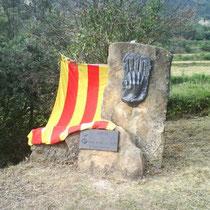 Monument Guifré el Pilós in Navès ( Website Ajuntament de Navès).