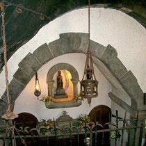 Im Inneren des Heiligtums