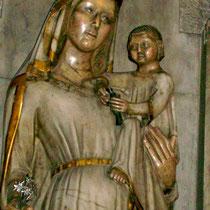 "Marienfigur in Kirche Sant Joan ""Verge la Blanca"""
