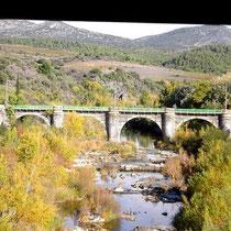 Brücke über dem Agly