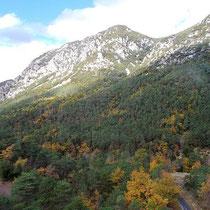 Die Berge rücken näher..