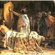 Pablo Antonio Béjar Novella: Gemälde vom Tod Guifres (1895)