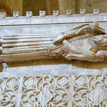 Sarkophag Alfons II. im Königskloster Poblet