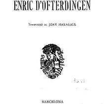 Novalis, Heinrich von Ofterdingen, übers. von Maragall