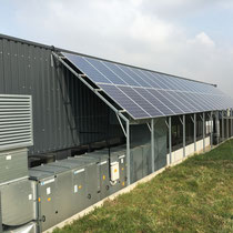 Solarpanelunterbau