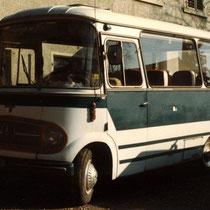 unser Tourenbus (da hatten wir einen!!)