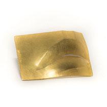 BRUNO MARTINAZZI, LA BOCCA - der Mund, Brosche, Gold
