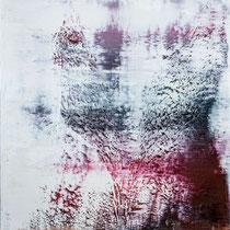 HARALD GANGL, ohne Titel, Öl / Leinwand, 130x110cm, 2020