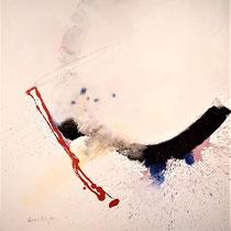 "SINASI BOZATLI, ""Arrows"", Acryl auf Leinwand, 90x115cm, 2014"