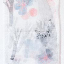KARINA MENDRECZKY, Magda 1, Radierung, Hochdruck / Japanpapier, 2020