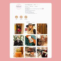 Onderhouden van Instagram account van de store