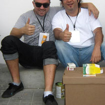 Artists Sofles (Australia) & Rafael Espitia (Colombia)