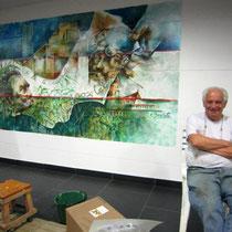 Artist Omar Brachetti (Argentina)