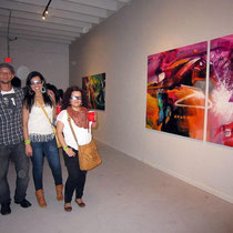 Exhibition ART BASEL FAIR MIAMI. Rafael Espitia at Once Arts Gallery, December 2012