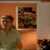 """Obra Pictórica """"La Venta de Coco"""" 1987 Acuarela Rafael Espitia para ambientación de escenografía en la novela CHEPE FORTUNA del canal RCN"""