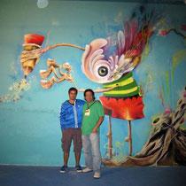 "Artists Giovanni ""Moni Kongo"" (Colombia) & Rafael Espitia (Colombia)"