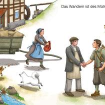 SingLiesel Verlag, Die schönsten Wanderlieder, Das Wandern ist des Müllers Lust …