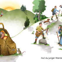 SingLiesel Verlag, Die schönsten Wanderlieder, Auf, du junger Wandersmann …