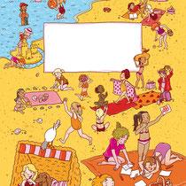 Randomhouse cbj, Der große Ferienspaß für Mädchen, Rätsel- und Spielebuch