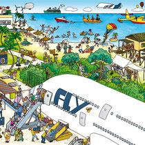 Wimmelbuchverlag, Das große Flughafen Wimmelbuch, Ankunftsflughafen