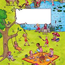 Randomhouse cbj, Der große Sommerspaß für Mädchen, Rätsel- und Spielebuch