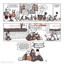 Isabelle Göntgen, Südkorea, Heimat 2.0?, eigenes Comicprojekt