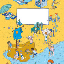 Randomhouse cbj, Der große Ferienspaß für Jungen, Rätsel- und Spielebuch