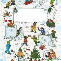 Randomhouse cbj, Der große Weihnachtsspaß für Jungen, Rätsel- und Spielebuch