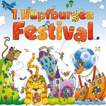 MPS, Plakat für ein Hüpfburgenfestival
