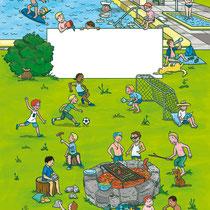 Randomhouse cbj, Der große Sommerspaß für Jungen, Rätsel- und Spielebuch