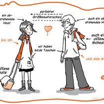 Kosmos Verlag, Liebe ist ein Nashorn, Ausschnitt