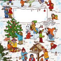 Randomhouse cbj, Der große Weihnachtsspaß für Mädchen, Rätsel- und Spielebuch