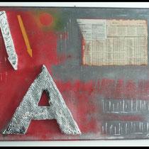 "12 Anagrafica "" A"". 120x80.  2014"