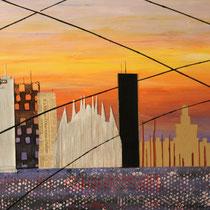 Skyline Milan.        80x120             2015