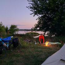 Perfekter Platz zum wild campen