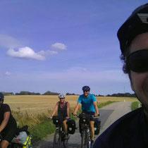 Mit anderen Radreisenden unterwegs